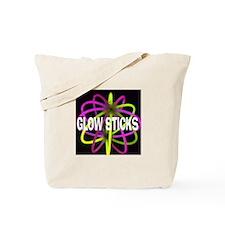 Glow Sticks Tote Bag