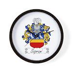 Soprani Coat of Arms Wall Clock