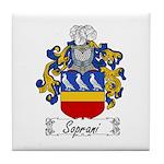 Soprani Coat of Arms Tile Coaster