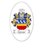 Soprani Coat of Arms Oval Sticker