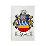 Soprani Coat of Arms Rectangle Magnet (100 pack)