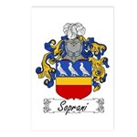 Soprani Coat of Arms Postcards (Package of 8)