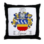 Soprani Coat of Arms Throw Pillow