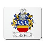 Soprani Coat of Arms Mousepad
