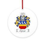 Soprani Coat of Arms Ornament (Round)