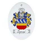 Soprani Coat of Arms Oval Ornament