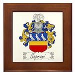 Soprani Coat of Arms Framed Tile