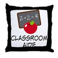 Classroom Aide Throw Pillow