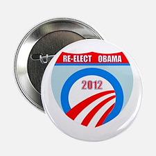 """Re-Elect Obama 2.25"""" Button"""