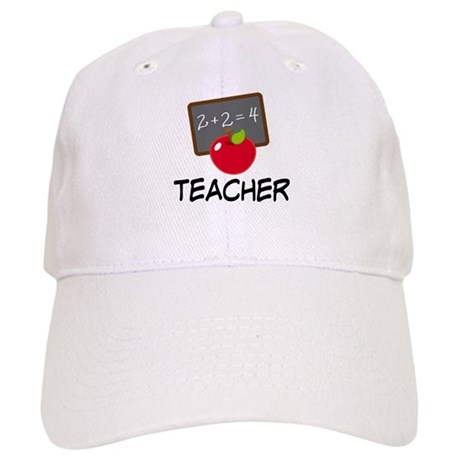Teacher Apple Cap