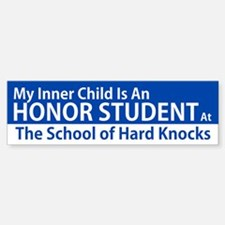 Inner Child Honor Student Bumper Bumper Bumper Sticker