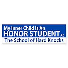 Inner Child Honor Student Bumper Bumper Sticker