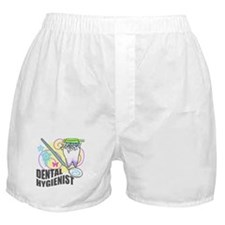 Dental Hygienist Boxer Shorts