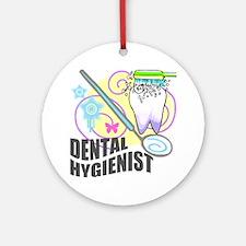 Dental Hygienist Ornament (Round)