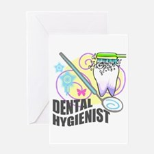Dental Hygienist Greeting Card