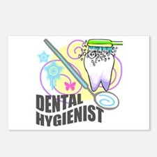 Dental Hygienist Postcards (Package of 8)
