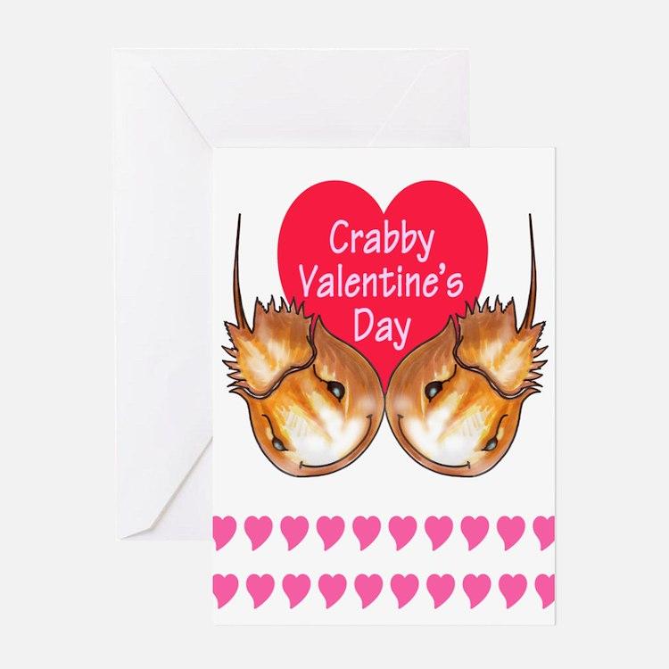 horseshoe crab valentine Greeting Card