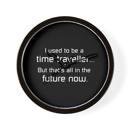 Time Traveller Wall Clock