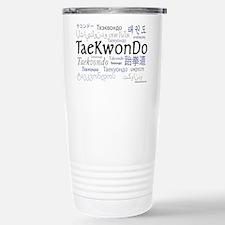 Taekwondo 18 Stainless Steel Travel Mug