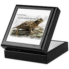 Krazy Irish Horny Toad Keepsake Box