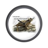 Horned toad Wall Clocks