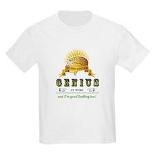 """""""Genius At Work"""" T-Shirt"""