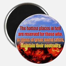 Hottest Places Magnet