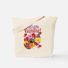 Ukulele Valentine Tote Bag