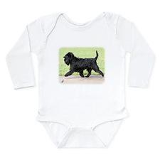 Affenpinscher 9Y516D-063 Long Sleeve Infant Bodysu