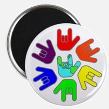 Love of Many Colors Magnet