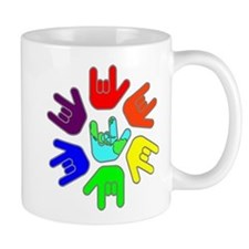 Love of Many Colors Small Mugs