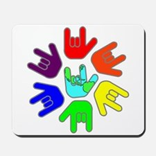 Love of Many Colors Mousepad