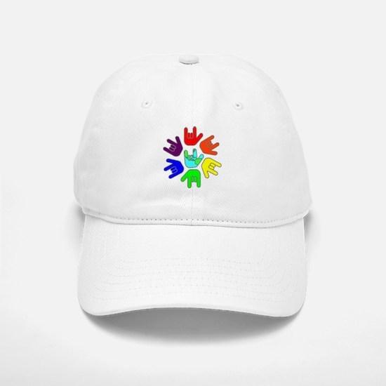 Love of Many Colors Baseball Baseball Cap