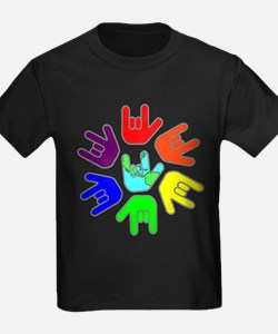 Love of Many Colors T