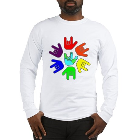 Love of Many Colors Long Sleeve T-Shirt