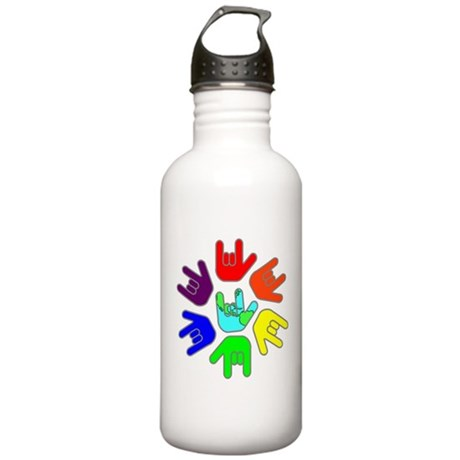 Love of Many Colors Stainless Water Bottle 1.0L