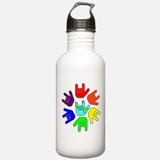 Love of Many Colors Water Bottle