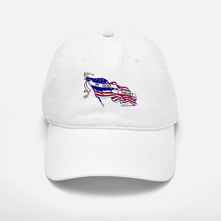 In God I Trust Baseball Baseball Cap