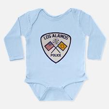 Los Alamos NM Police Long Sleeve Infant Bodysuit