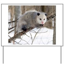 Opossum Love Yard Sign