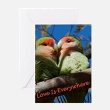 Love Is Everywhere Valentine Card