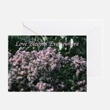 Love Blooms Everywhere Valentine Card