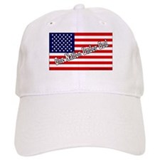 One Nation Under God W/American Flag Baseball Cap