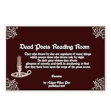 Edgar Alan Poe Postcards (Package of 8)