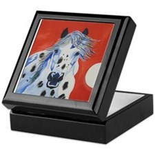 Unique Appaloosa horses Keepsake Box