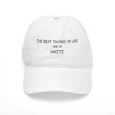 Best Things in Life: Haiti Baseball Cap