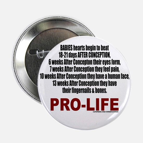PRO-LIFE Button
