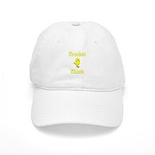 Crochet Chick Baseball Cap