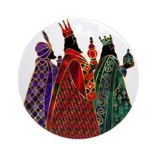 Wise Men Ornament (Round)