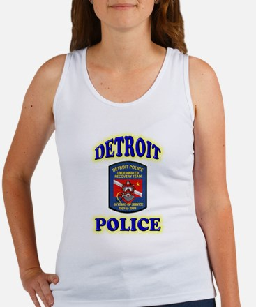 Detroit Police Dive Team Women's Tank Top